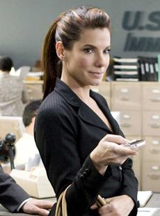 The second best thing about the new movie, The Proposal—after Ryan Reynolds of course—is Sandra Bullock's shiny, straight, always-perfect hair.