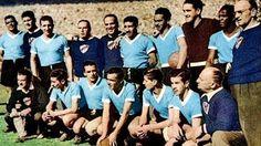 EQUIPOS DE FÚTBOL: SELECCIÓN DE URUGUAY Campeona del Mundo 1950