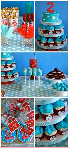 Thing 2 Birthday idea