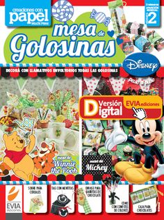Mesa de Golosinas 2 descargalo en www.eviadigital.com #manualidades