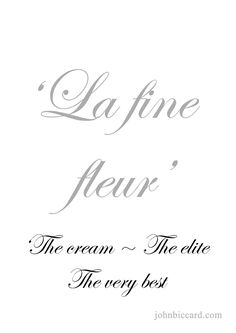 ♔ 'The Cream ~ The elite ~ The very best French Phrases, French Words, Language Study, French Language, How To Speak French, Learn French, Pretty Words, Cool Words, French Fancies