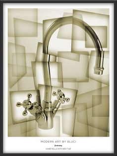 Modern art inspired cubism advert for Bluci.com