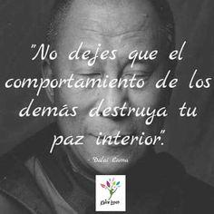Paz Interior, Motivational Phrases, Spanish Quotes, Namaste, Frases Coaching, Psychology, Qoutes, Like4like, Advice