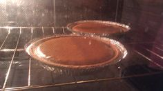 pumpkin Pie step 2: in the oven