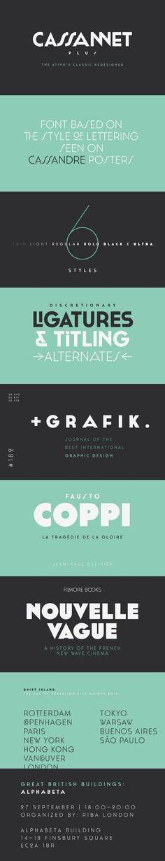 Cassannet Plus Free Font