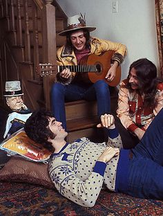 Cory Wells (with guitar) and Three Dog Night, 1971 70s Music, Blues Music, Rock Music, Cory Wells, Casey Kasem, Three Dog Night, Boogie Woogie, Rock Posters, Gospel Music