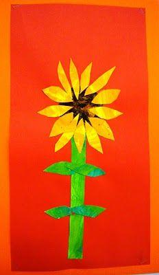 Eric Carle Sunflowers