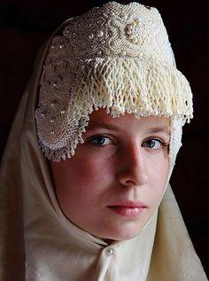 Каргопольский кокошник | Русские орнаменты и узоры #kokoshnik