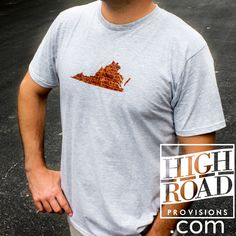 Hokie pride!  HighRoadProvisions.com - - - - Garments | Goods | Giving