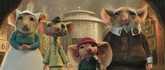 """Despereaux's family from """"The Tale of Despereaux""""."""
