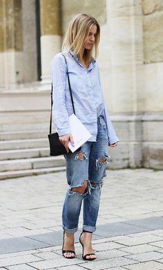 Duo: Camisa com jeans