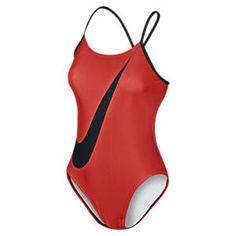 Nike Big Swoosh Cut-Out Women's Tank Swimsuit