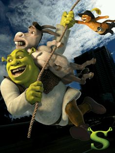 Help Shrek and friends regain the swamp! #Shrek