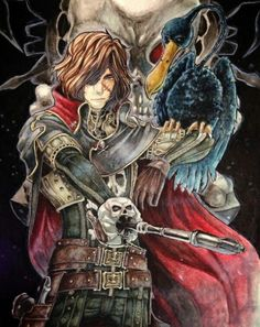 Buy directly from the world's most awesome indie brands. Captain Harlock Movie, Space Pirate Captain Harlock, Japanese Superheroes, Captain My Captain, School Of Rock, Ghost In The Shell, Japan Art, Indie Brands, Pirates