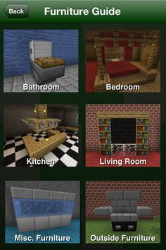 Kitchen Ideas Minecraft Pe how to make furniture and appliances in minecraft: a tutorial