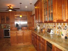 Spice Maple Cabinets by Kitchen Cabinet Kings