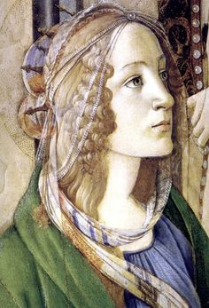 Botticelli / Caterina Sforza in the tradition of the Milanese dynasty as St. Catherine of Alexandria Sandro, Renaissance Portraits, Renaissance Paintings, Italian Renaissance, Renaissance Art, Catherine Of Alexandria, Giorgio Vasari, Italian Painters, Italian Art