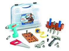 Toy Construction Tools - Learning Resources Pretend  Play Work Belt Tool Set *** Continue to the product at the image link.