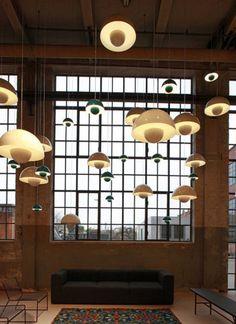 Verner Panton Flowerpot Pendant (http://www.cimmermann.co.uk/product/_tradition_flower_pot_vp1_black_suspension_light/)
