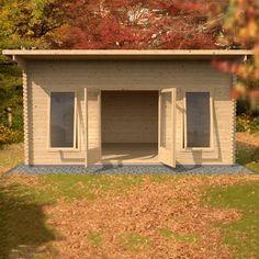 Baruda 53 log cabin garden office Log Cabins for sale Free