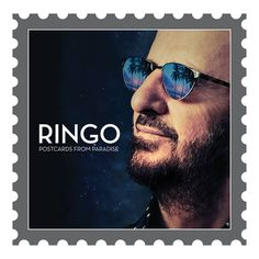 Ringo Starr Postcards From Paradise on LP Recorded with the All Starr Band featuring Steve Lukather, Todd Rundgren, Gregg Rolie, Richard Page, Warren Ham & Gregg Bissonette Guest Artists include Joe W Abbey Road, Ringo Starr Songs, Pink Floyd, Richard Page, Gregg Rolie, Richard Starkey, Todd Rundgren, Beatles Songs, Beatles Art