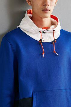 Slide View: 5: Nautica + UO Hoodie Sweatshirt