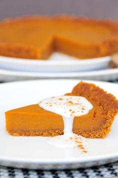 Pumpkin Pie glutenfrei, vegan & fructosearm