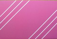 """Fabric Cork Bulletin Boards.  Saffhire Pink with White diagonal message ribbons, 24"""" x 36"""", $124.81. Your choice of thousands of fabrics; four standard sizes and custom; with or without message ribbons; and lots more at  www.PushPinsAndFabricCorkBoards.com, subcategory Pink. Also matching DECORATIVE PUSH PINS. #fabriccorkbulletinboards #decorativepushpins #fabricwallart #interior designers"""