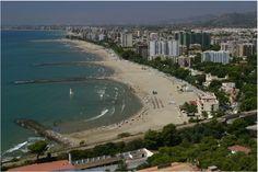 Vistas desde las habitaciones del Hotel a la playa de #Benicassim