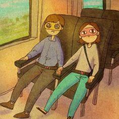 Liebe ist, gemeinsam albern zu sein.