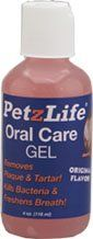 $34.49-$48.99 PetzLife Oral Care Spray (2.2 oz) and Salmon Gel (4 oz) - Made in the USA, all natural ingredients. Works fast, and controls plaque and tartar on dogs and cats. It also helps control bacteria and bad breath. The secret - a proprietary blend of Grapefruit Seed Extract and other all natural herbs and ingredients produces a safe and effective oral care maintenance program, great for al ...