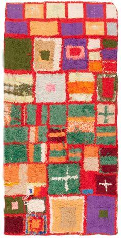 Vintage Moroccan Rug - Nazmiyal Collection