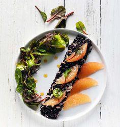 Salade de crabe et riz noir au pamplemousse - Ôdélices : Recettes de cuisine faciles et originales !
