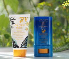 Shiseido x Roxy Summer On The Go Kit | British Beauty Blogger Best Spf Sunscreen, Tanning Sunscreen, Face Skin, Face And Body, Surf Brands, Go Kit, After Sun, Sun Care, Summer Birthday
