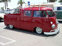 Slammed Vw Truck...Beep Beep.....Re-pin..Brought to you by #HouseofInsurance #Car ins #InsuranceAgency in Eugene OR