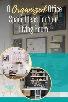 Organized Home Office - Smart Ways To Decorate Your Home Office - Home Office Decor Ideas for Living Room Office Home Office Organization, Home Office Decor, Small Space Organization, Office Ideas, Declutter Your Home, Organizing Your Home, Organization Ideas, Creative Office Space, Decorating Your Home