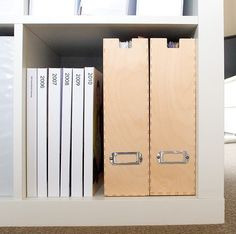 Space saving, digital, yearly family photo albums