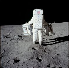 NASA Got Sick of all that Conspiracy Thing and Released over 10,000 Photos from the Apollo Moon Mission