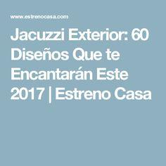 Jacuzzi Exterior: 60 Diseños Que te Encantarán Este 2017   Estreno Casa
