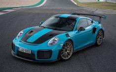 Download wallpapers 4k, Porsche 911 GT2 RS, supercars, 2018 cars, sportcars, Porsche