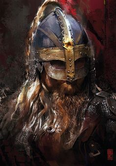 Best selection of Norse And Viking jewelry, handmade items and merchandise. Buy high quality accessories, and anything related to Vikings and pagans. Viking Warrior, Art Viking, Viking Helmet, Viking Life, Viking Raven, Viking Ship, 3d Fantasy, Medieval Fantasy, Fantasy Battle