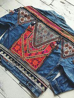 7c8bf49f31a3 The Stylish Gypsy denim jacket