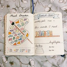 While mood trackers are easy enough to create, it makes things a lot more intereting if you can make tracking your mood fun, even on the days when you're not feeling your best. That's where these creative bullet journal mood trackers come into play. Bullet Journal Tracker, Bullet Journal School, Bullet Journal Mood Tracker Ideas, Bullet Journal 2019, Bullet Journal Notebook, Bullet Journal Spread, Bullet Journal Ideas Pages, Bullet Journal Inspiration, Tracker Mood