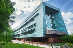 Penn State decided to go green with the School of Architecture and Landscape Architecture. WTW Architects in Pittsburgh and Overland Partners in San Antonio created an energy-efficient design with mostly construction waste materials sourced from within 500 miles of the school, including 30 tons of 95 percent recycled copper from Rome, New York, for the siding.