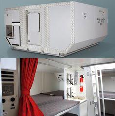 Rest Modules Let Flight Crews Sleep in Cargo Hold | Gadget Lab | Wired.com