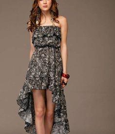 short to long dresses