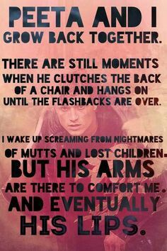 Katniss And Peeta Catching Fire Quotes catching fire katniss and