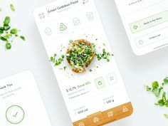 Top 20 web design projects for yor inspiration Ui Ux Design, Application Ui Design, Design Food, Mobile App Design, Android App Design, Mobile Ui, Interface Web, Interface Design, App Design Inspiration