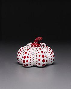 YAYOI KUSAMA, Porcelain Pumpkin,  2002