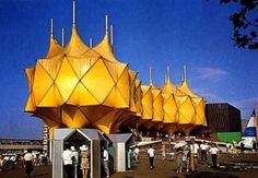 Shapes of 1970 Japan Worlds Fair